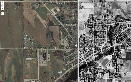 Calumet County Comparison Map