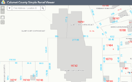 Calumet County Simple Parcel Viewer