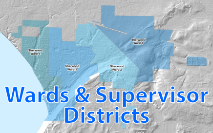 Calumet Wards and Supervisory Districts
