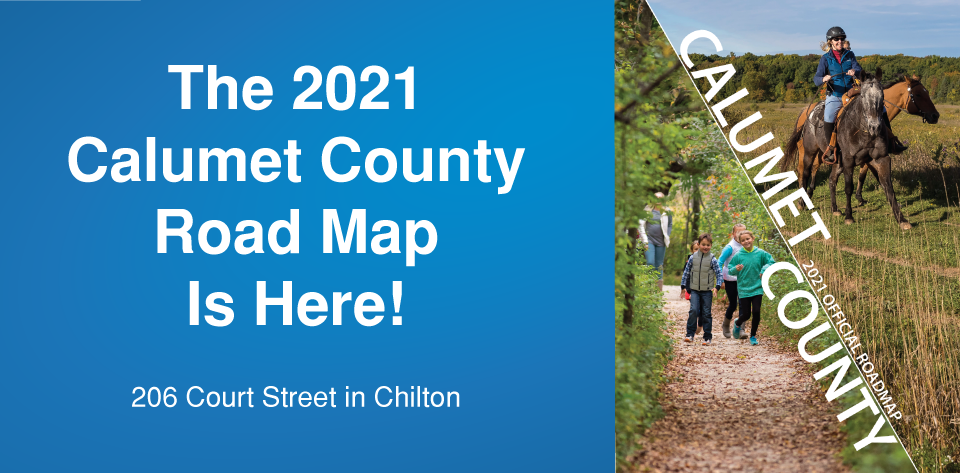 Calumet County New Roadmaps are here!